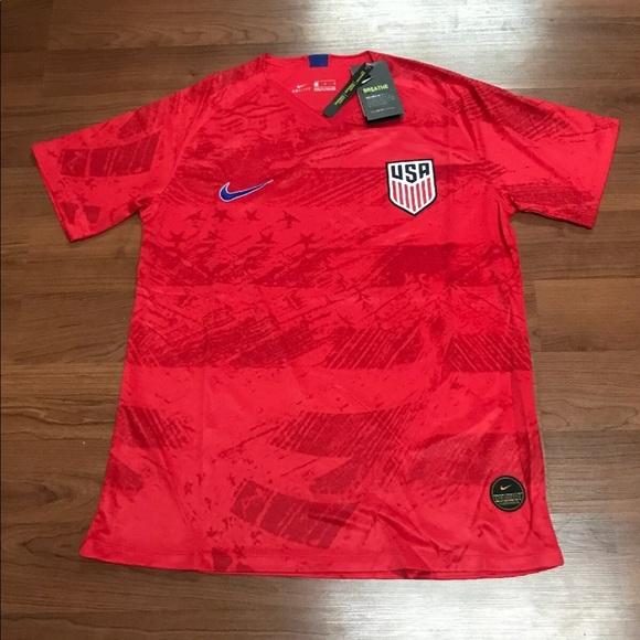hot sale online 0f50b ce995 2019 World Cup USA Women's /Men's Soccer Jersey NWT